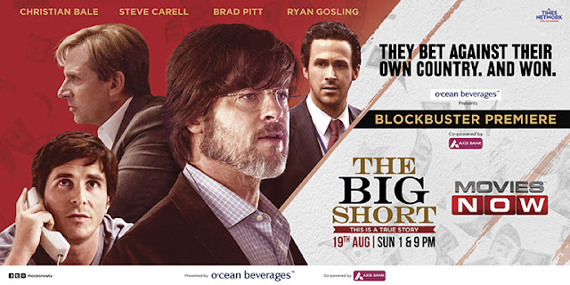 Movies NOW to premiere Academy Award-winning movie, 'The Big Short' (pr)