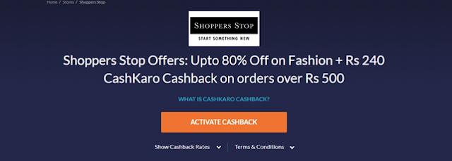 Shopper stop offer
