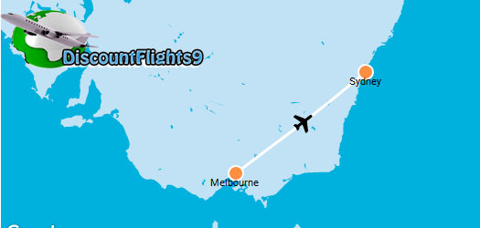 Cheap Domestic Flight From Melbourne To Sydney