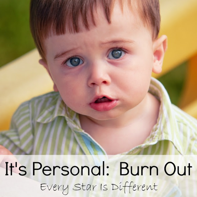 It's personal:  Burn Out