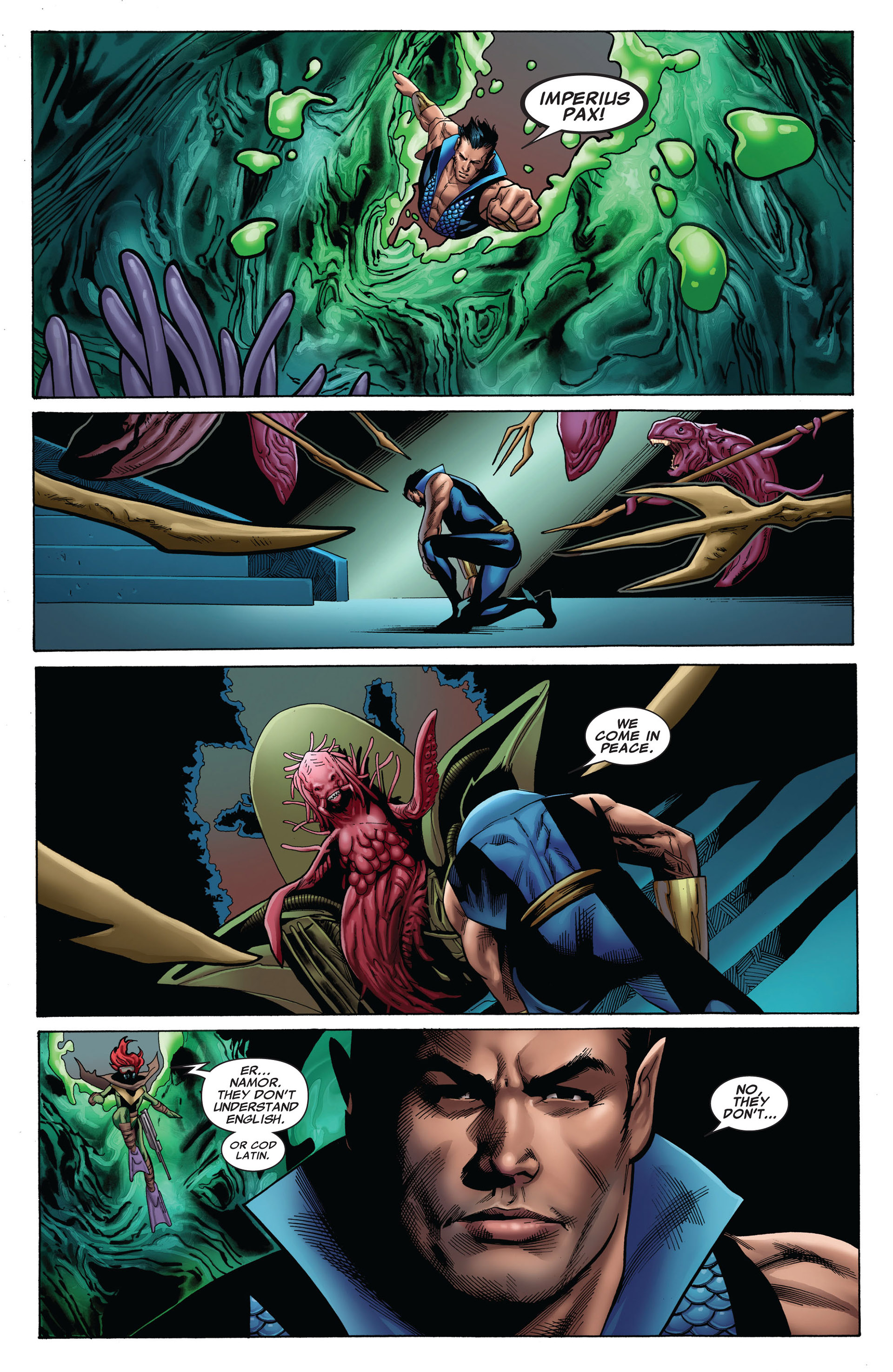 Read online Uncanny X-Men (2012) comic -  Issue #8 - 6