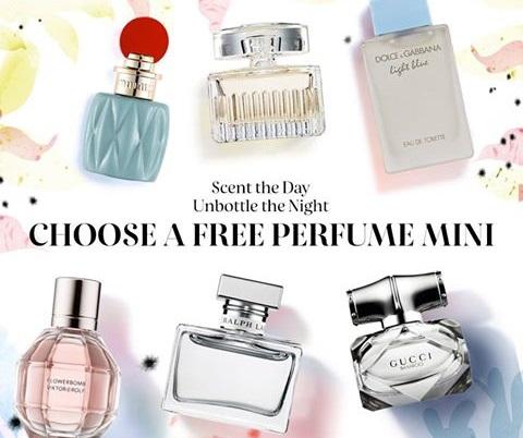 Sephora Canada Free Perfume Mini Deluxe Sample Promo Code