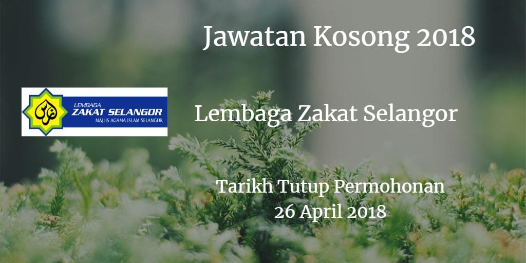 Jawatan Kosong MAIS 26 April 2018