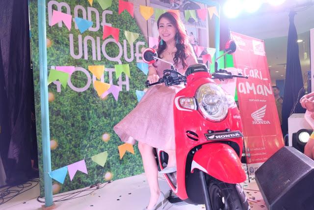 Launching All New Honda Scoopy Dimeriahkan Artis Ibu Kota