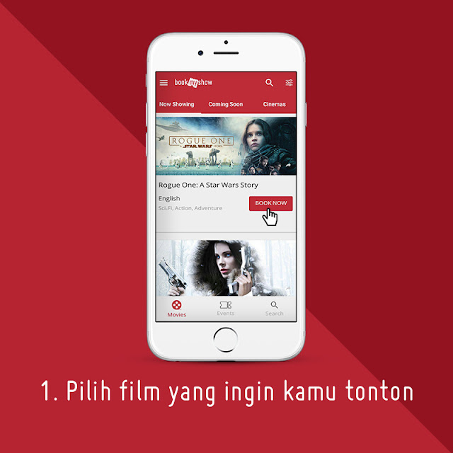 Cara Membeli Tiket Bioskop Secara Online