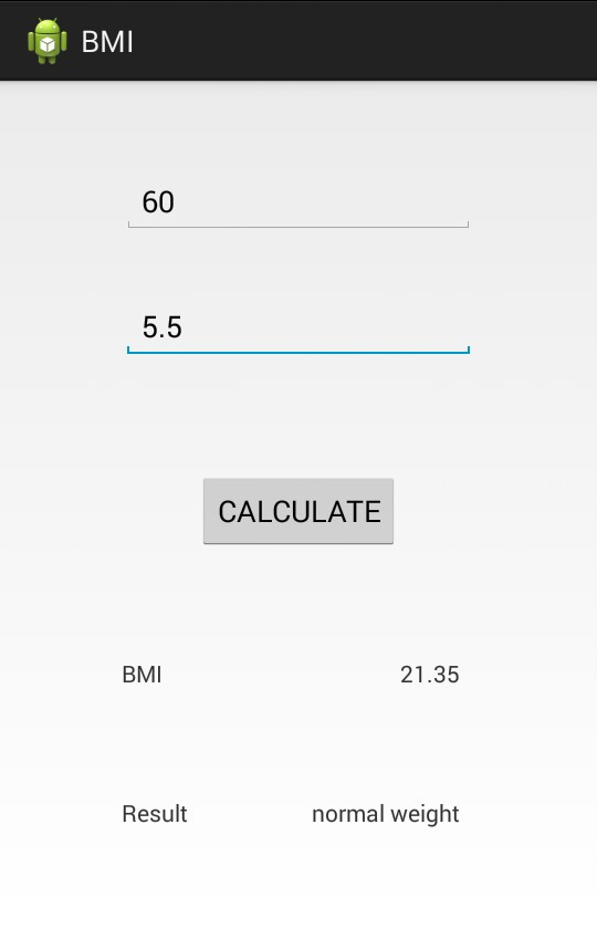 How to Create BMI Calculator Android App