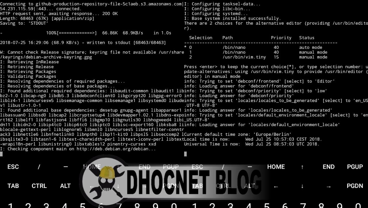 Install Debial Linux di Android Tanpa Rooting