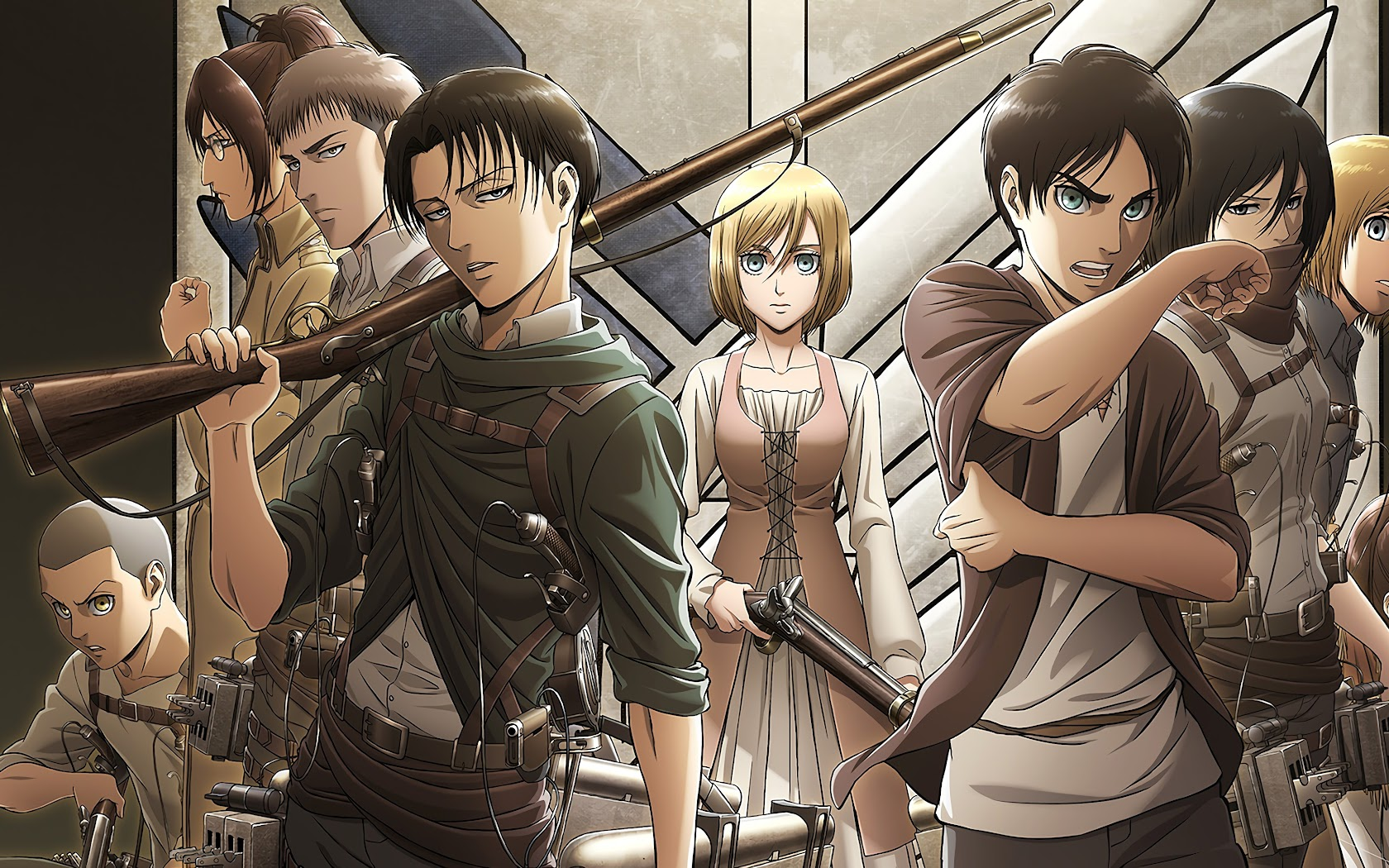Advertisement platforms categories 0.1042015 user rating6 1/2 zip into the world of the popular ani. Levi, Eren, Krista, Attack on Titan, Characters, 4K, #143 ...