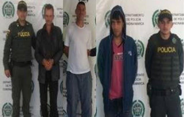 Tres capturados por delitos sexuales contra mujeres y niños durante la última semana en Funza