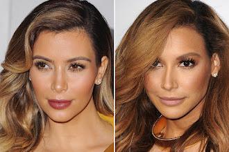 Who Wore It Best: Kim Kardashian vs Naya Rivera?