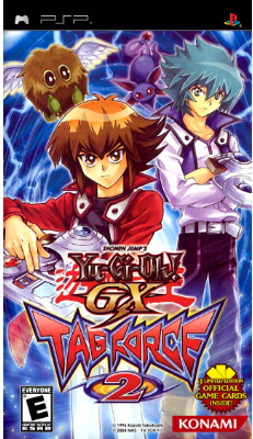 Download Game PPSSPP/PSP  Yu-Gi-Oh! GX Tag Force 2 (USA) ISO