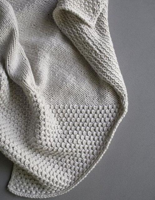 Cozy Corners Crib Blanket - Free Pattern