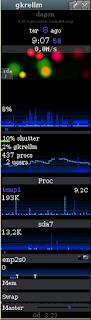 Gkrellm monitor do Sistema antigo mas nem tanto