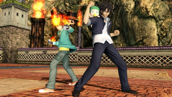 J-Stars Victory Vs, Shounen, Jump, Weekly Shounen Jump, Anime collaboration, games, PS3, Playable Characters, Screenshot, Reborn, Beelzebub