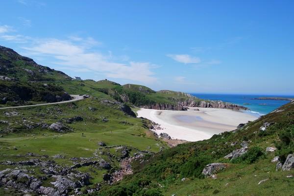 écosse north coast 500 road trip côte nord caennabeinne beach plage