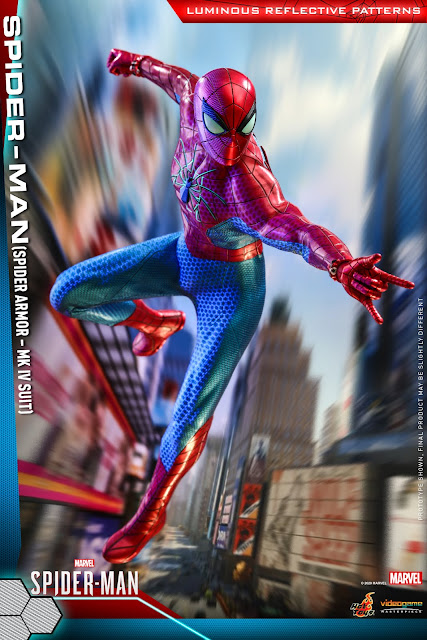 Hot Toys, Marvel's Spider-Man Spider Armor MK IV Suit, 蜘蛛俠, 1:6, 比例, 珍藏人偶, Advance Suit, Spider Punk, Scarlet Spider, Negative zone, Iron Spider Armor