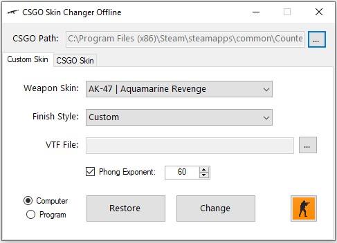 C# Software: CSGO Skin Changer (Offline)