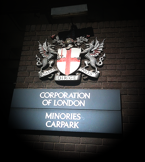 Corporation of London Sign