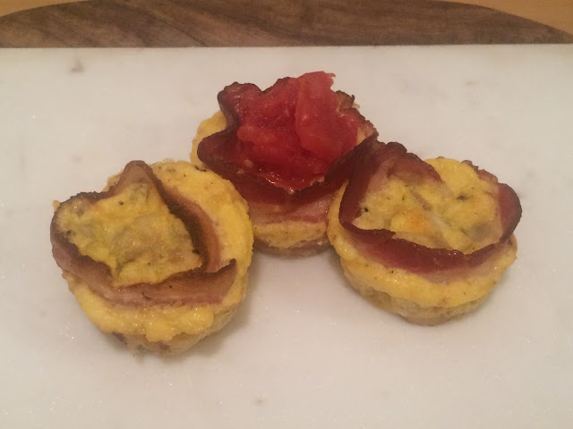BLT Egg Cup Recipe
