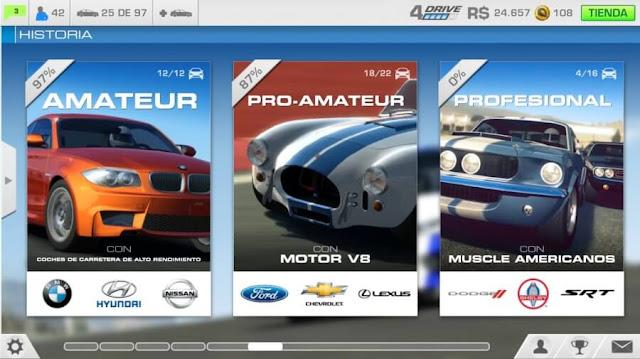 سيارات السباق التي يمكنك اختيارها