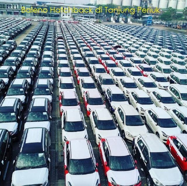impor, suzuki, baleno, hatchback, inden, keluar, dijual, tanjung, priok, terbaru, mobil