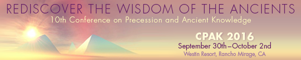 Conference on Precession and Ancient Knowledge 2016