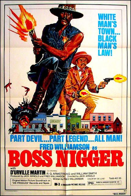Poster Boss Nigger