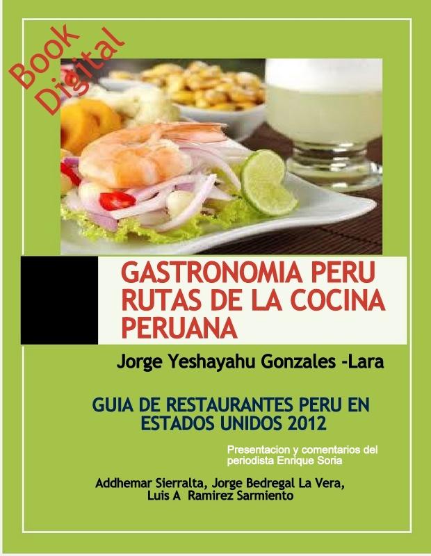 Libro GASTRONOMIA PERU RUTAS DE LA COCINA PERUANA