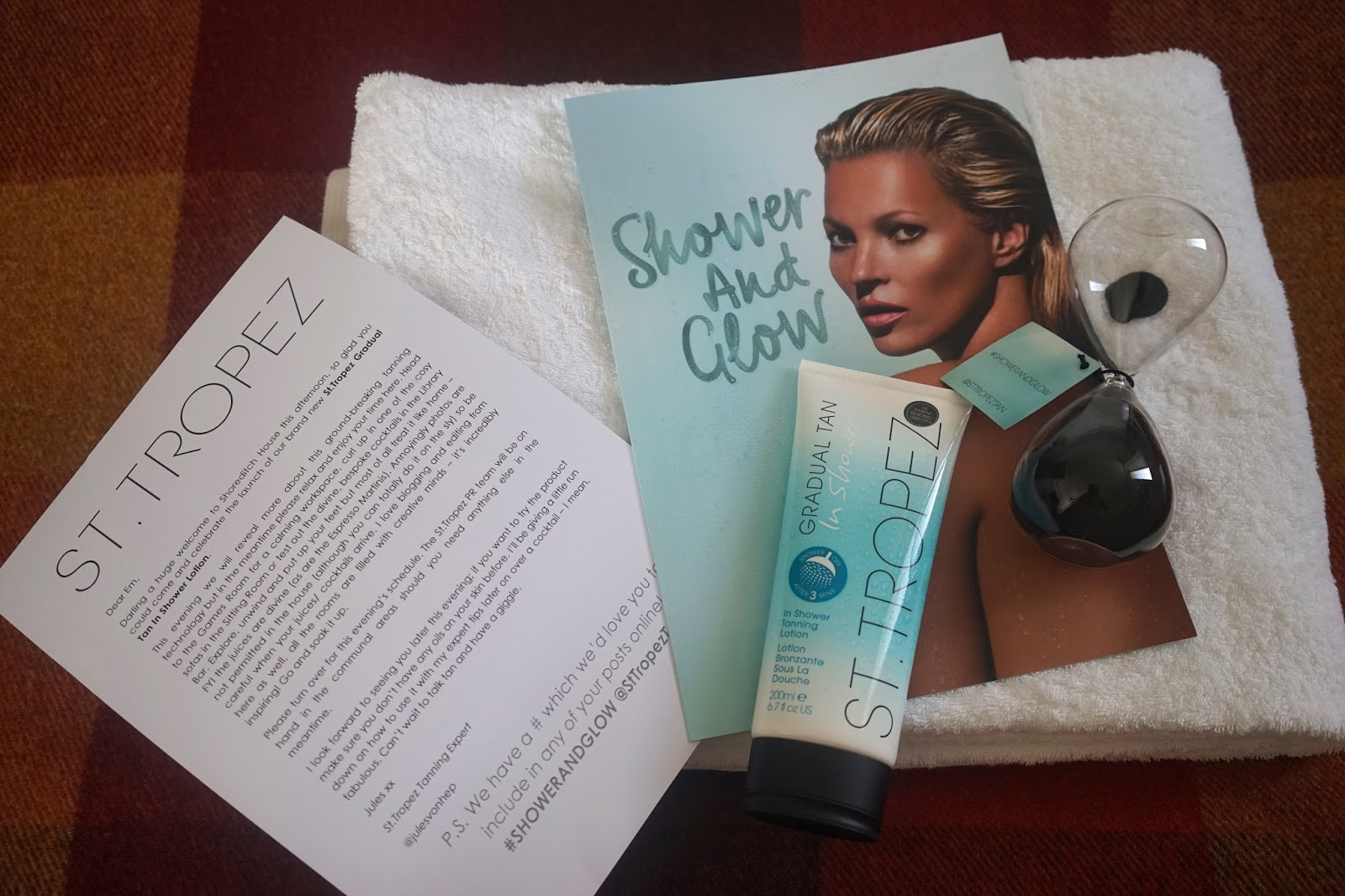 St Tropez Shower and Glow revie