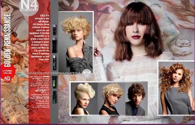 Evos Parrucchieri collezione autunno-inverno 2013-14: GOLDEN RENAISSANCE