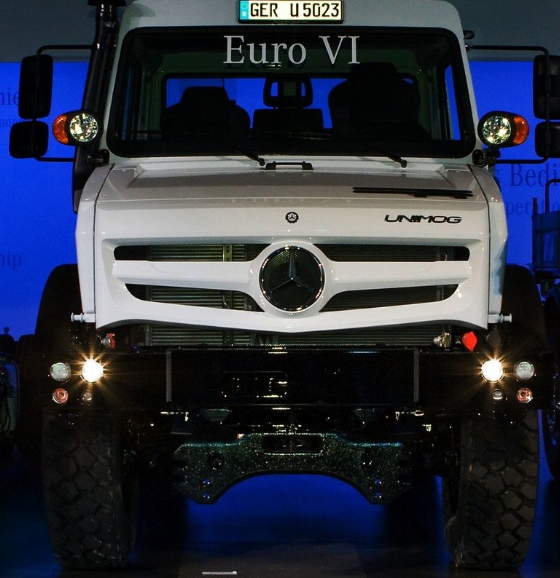 2014 Mercedes-Benz Unimog U5023 Engine