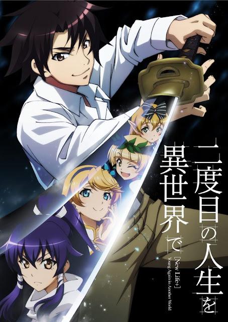 Novelas Nidome no Jinsei wo Isekai de tendrán anime en octubre