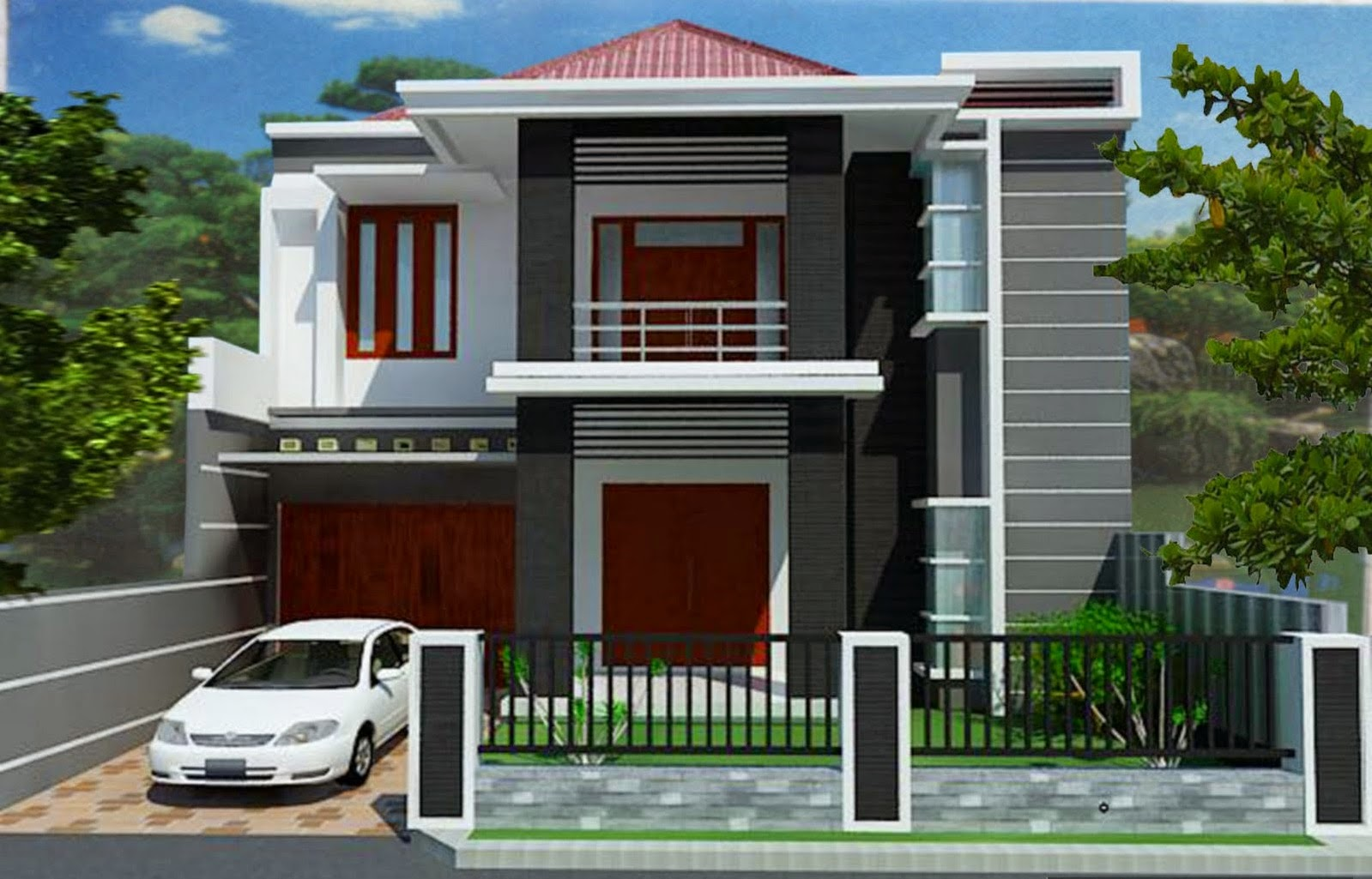 Model Rumah Minimalis Tipe 45
