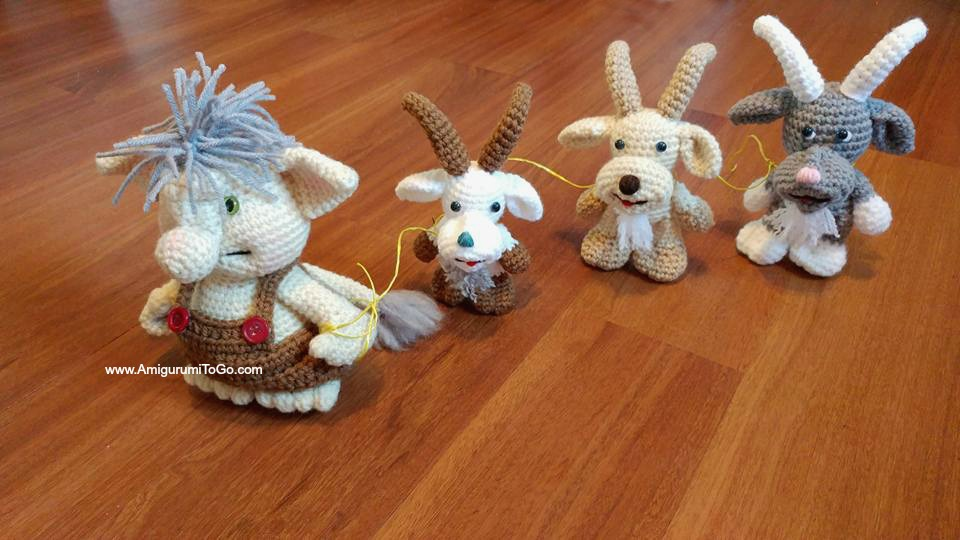 Gruffy The Goat Amigurumi To Go