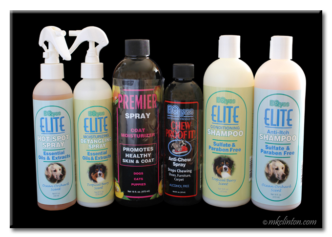 EQyss Complete Line of Pet Grooming Products