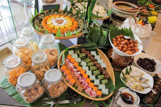 Kuih-muih tradisi - Buffet ramadan Selera Desa Hotel Ancasa
