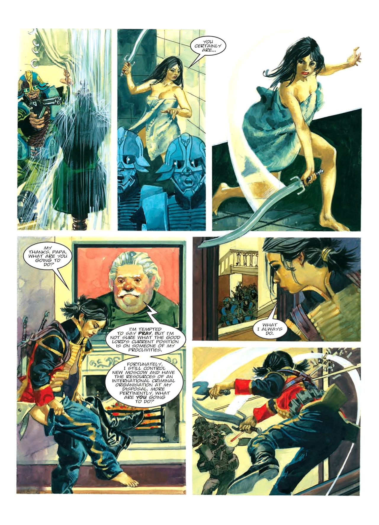 Read online Nikolai Dante comic -  Issue # TPB 9 - 73