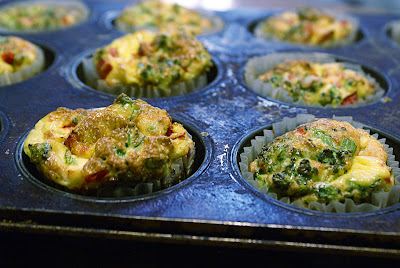 Quiche crust in muffin cups
