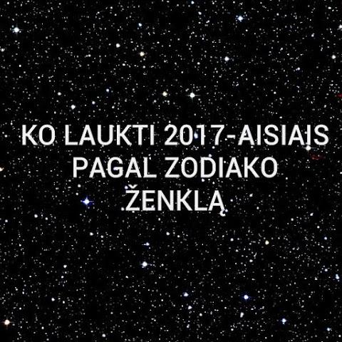 Ko laukti 2017-aisiais pagal zodiako ženklą