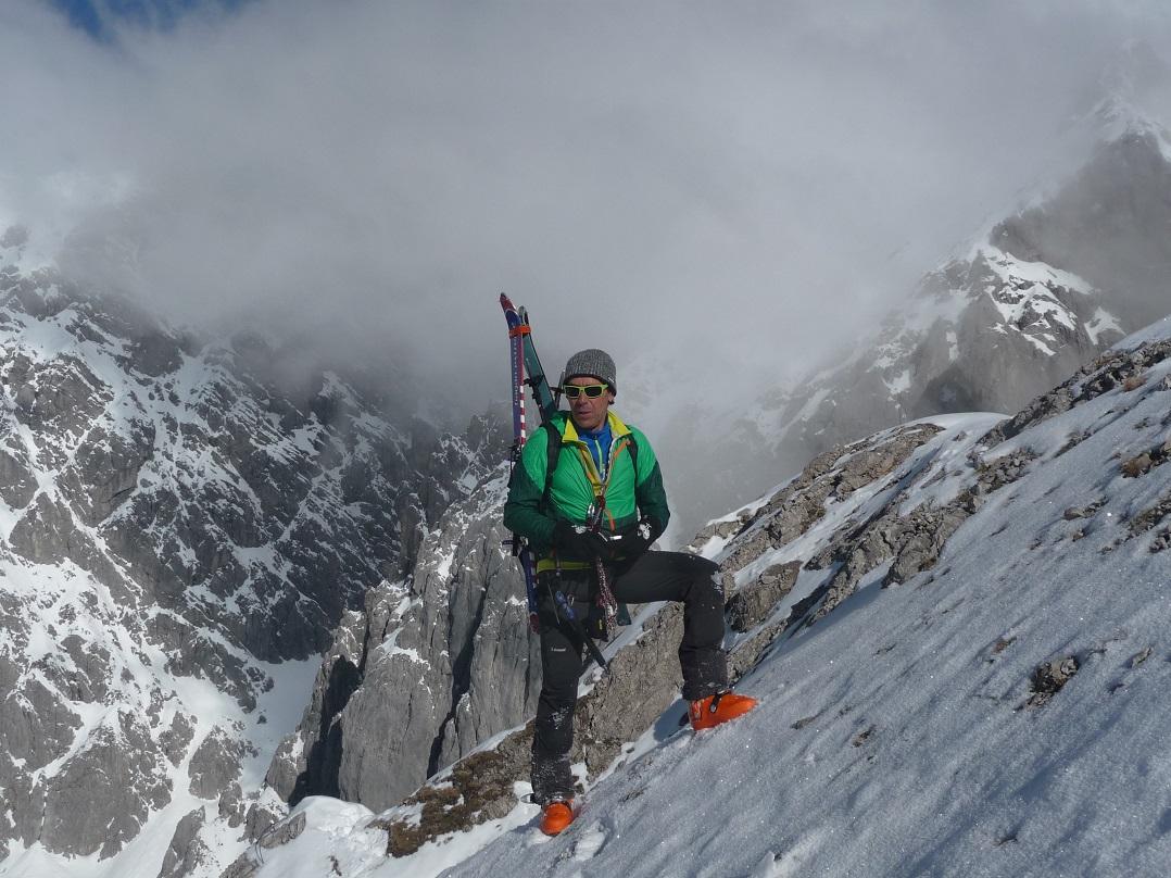 Klettersteig Wankspitze : Bergheimat ski klettersteig auf die wankspitze