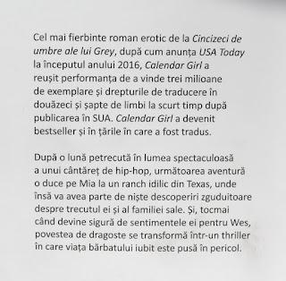 Calendar girl de Audrey Carlan, vol. 3. Recenzie.