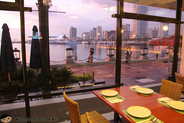 Manila Bay Sunset View from Dencio's
