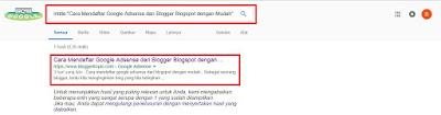 Cara Mudah Mengetahui Artikel Sudah Terindex Google atau Belum