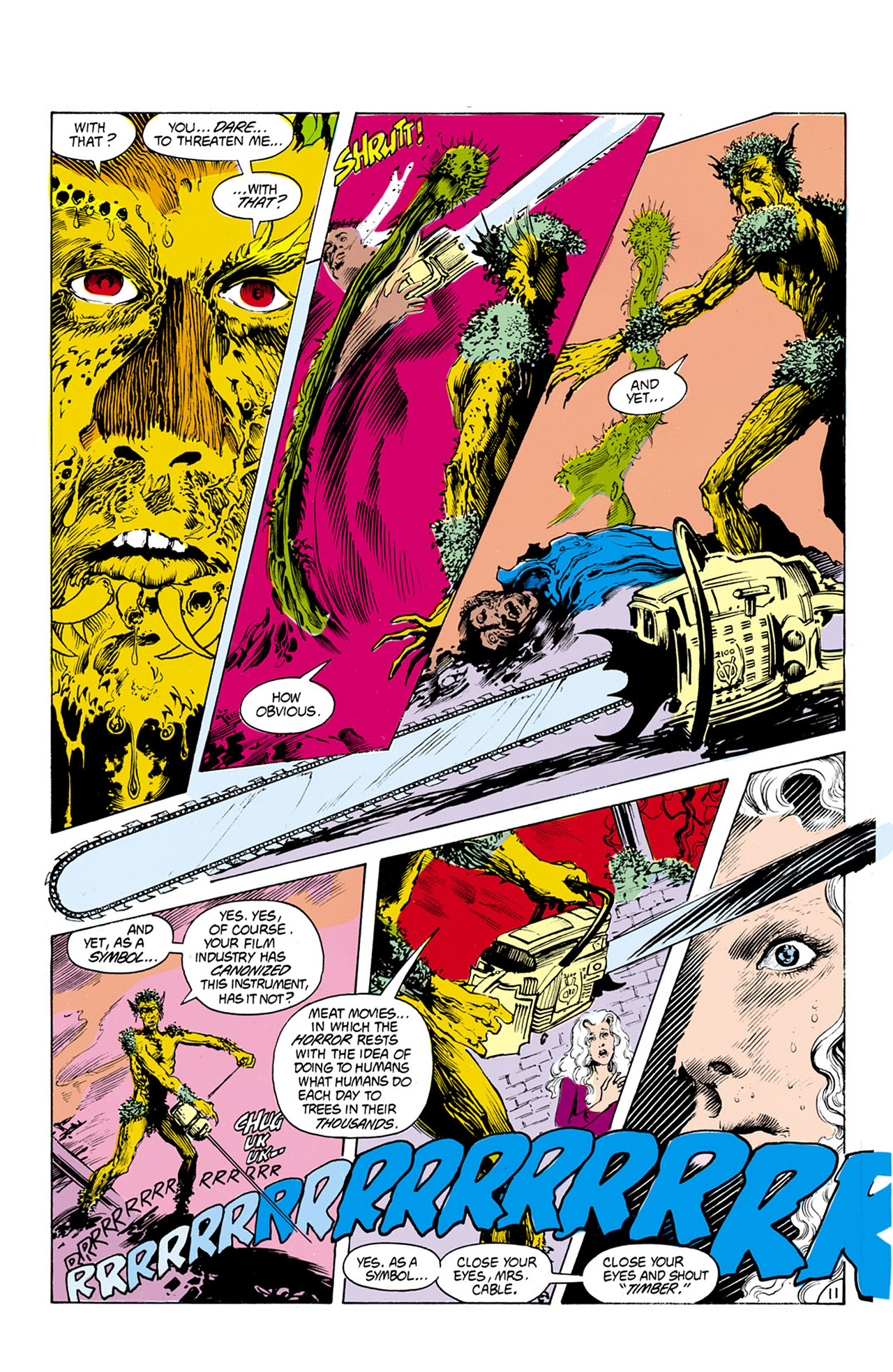 Swamp Thing (1982) Issue #24 #32 - English 12