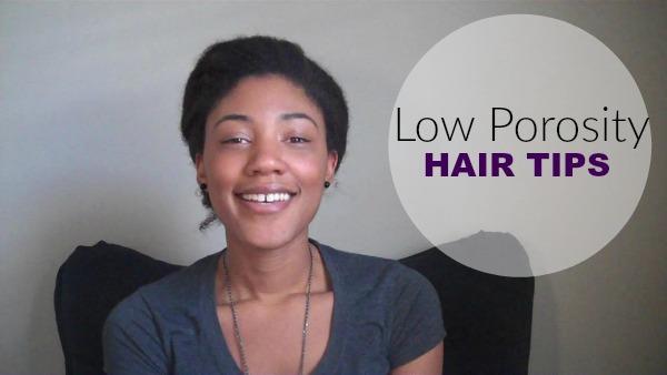 Low Porosity Hair Tips