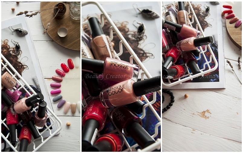 lakiery do paznokci sensique, klasyczne lakiery do paznokci,