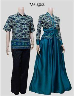 Model Baju Batik Couple Atasan Terbaru