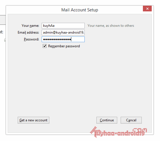 Email Client Mozilla Thunderbird