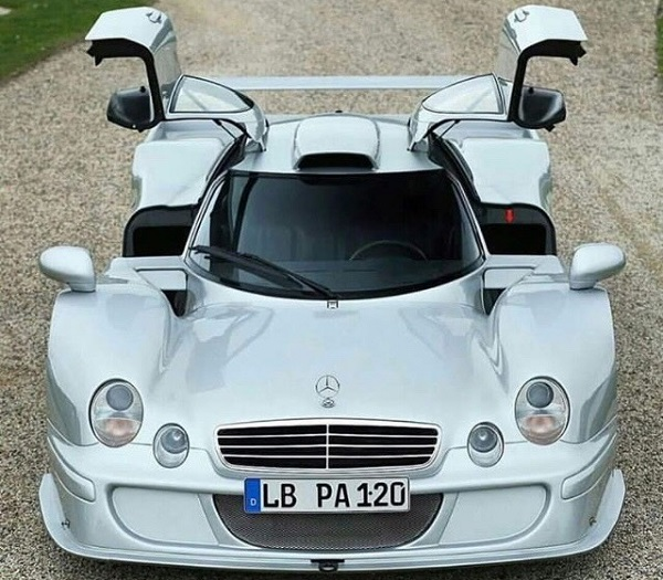 Mercedes Benz CLK LM AMG Straßenversion Legal para Calle