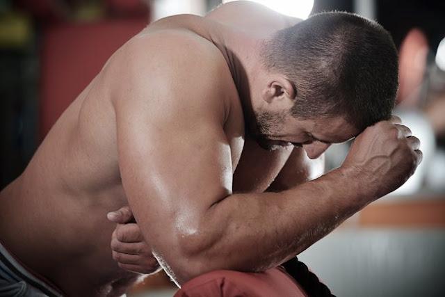 bodybuilder frustrado
